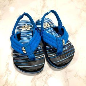 Toddler 3/4 Reef Sandals Blue